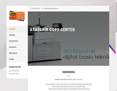 Ataşehir Copy Center